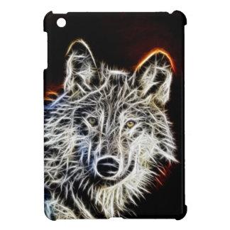 Lobo brillante de Fractalius