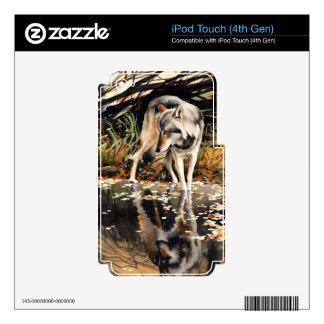 Lobo Calcomanía Para iPod Touch 4G
