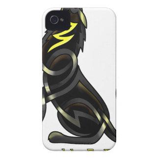 Lobo céltico Case-Mate iPhone 4 funda