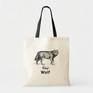 Lobo cherokee joven bolsa tela barata
