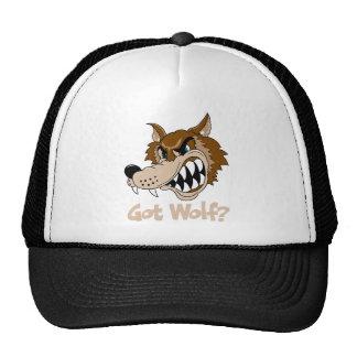 Lobo conseguido gorra