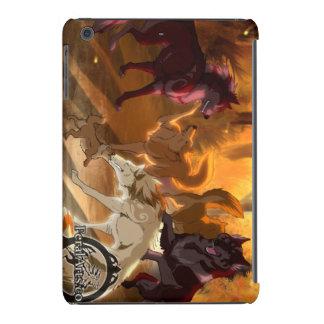 Lobo creciente meridional funda de iPad mini