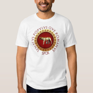 Lobo de Capitoline Remera