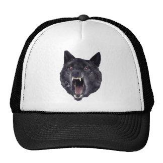 Lobo de la locura gorras de camionero