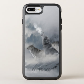 Lobo de la nieve funda OtterBox symmetry para iPhone 7 plus