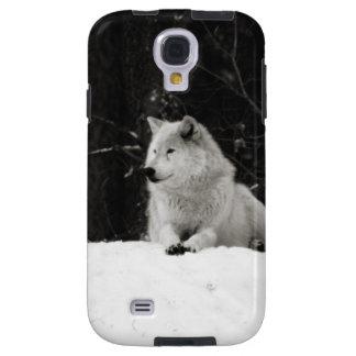 Lobo de la nieve funda para galaxy s4