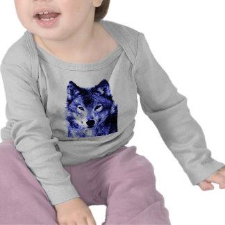 Lobo de la noche camiseta