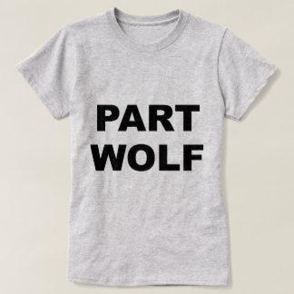 Lobo de la parte playeras