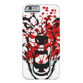Lobo de la sangre funda de iPhone 6 barely there