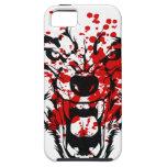 Lobo de la sangre iPhone 5 coberturas