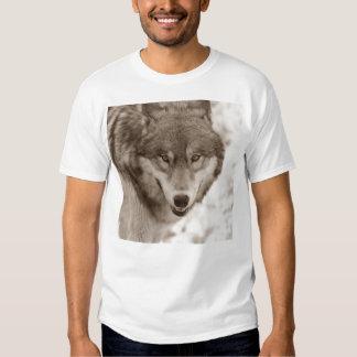 Lobo de la sepia remera