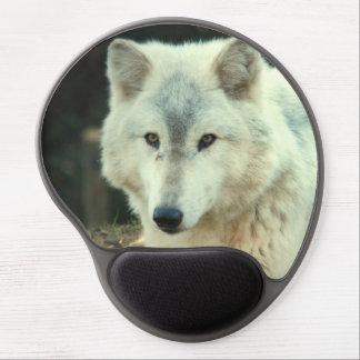 Lobo de madera alfombrillas con gel