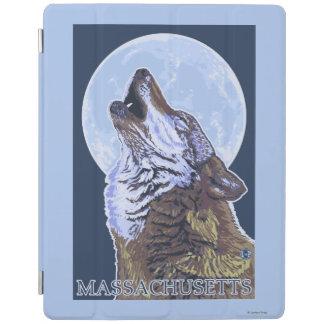 Lobo de MassachusettsHowling Cubierta De iPad