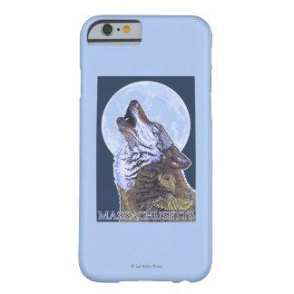 Lobo de MassachusettsHowling Funda De iPhone 6 Barely There
