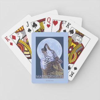 Lobo de MassachusettsHowling Cartas De Juego