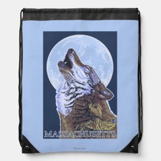 Lobo de MassachusettsHowling Mochilas
