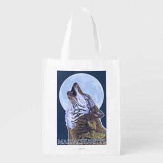 Lobo de MassachusettsHowling Bolsa Para La Compra