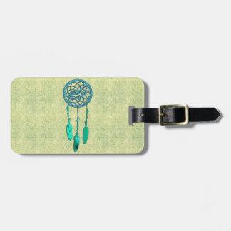 Lobo de moda Dreamcatcher del nativo americano Etiquetas Bolsas