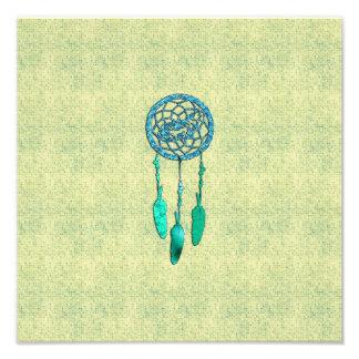 Lobo de moda Dreamcatcher del nativo americano Fotografías