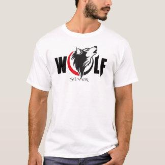 Lobo de plata (rojo) playera
