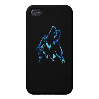 lobo del agua iPhone 4 funda