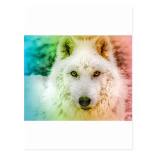 Lobo del baile postales