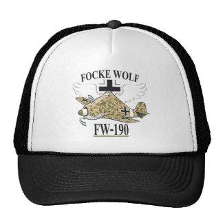 lobo del focke fw-190 gorra