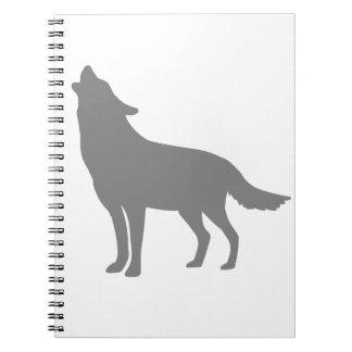 Lobo del grito note book