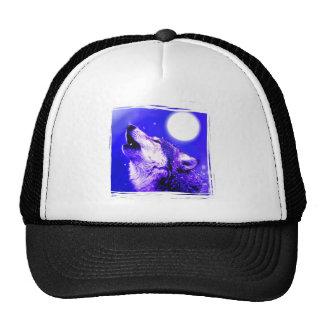 Lobo del grito gorras