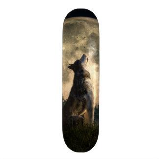 Lobo del grito tablas de patinar