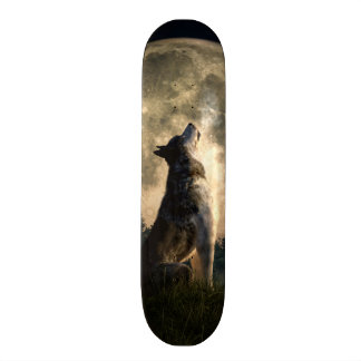 "Lobo del grito patineta 7 1/4"""