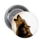 Lobo del grito pin