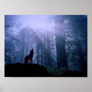 Lobo del grito póster