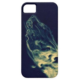 Lobo del humo funda para iPhone SE/5/5s