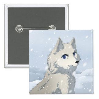 Lobo del invierno pins
