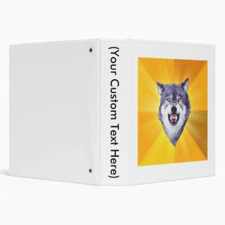 """Lobo del valor carpeta 1 1/2"""""""