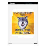 Lobo del valor contra zombis iPad 2 skins