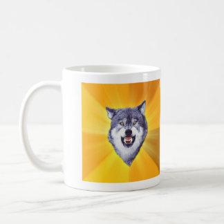Lobo del valor tazas de café