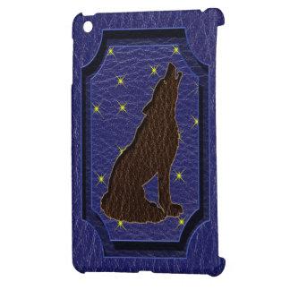 Lobo del zodiaco del nativo americano de la Cuero-