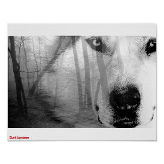 Lobo en la original de DarkSpectrum   del poster d