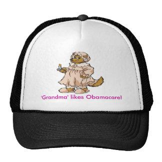 Lobo en la ropa de la abuela gorro