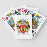 Lobo Family Crest Playing Cards