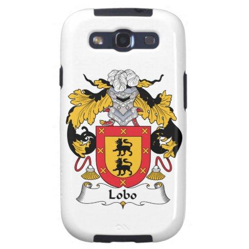 Lobo Family Crest Samsung Galaxy S3 Cases