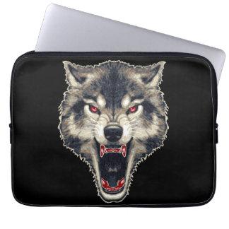 Lobo feroz fundas computadoras