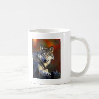 Lobo gris, fotografía de Digitaces en peligro de l Tazas De Café