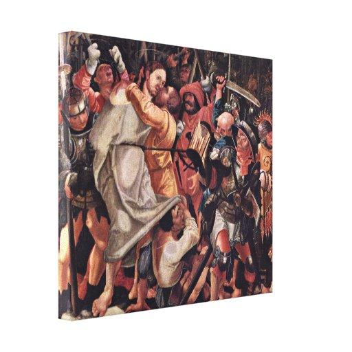 Lobo Huber - detención de Cristo Impresiones En Lienzo Estiradas
