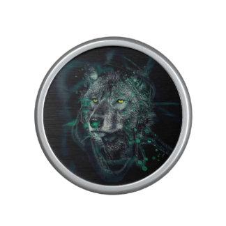 Lobo indio verde altavoz bluetooth