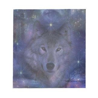 Lobo - líder del paquete bloc de notas