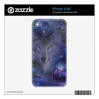 Lobo - líder del paquete skins para eliPhone 4S