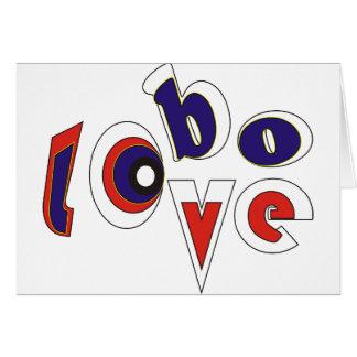 Lobo love card